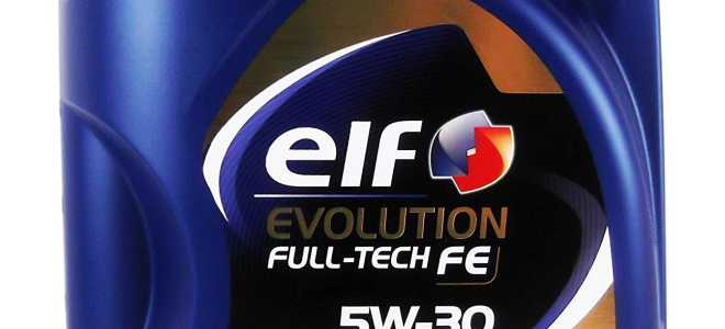 Обзор масла Elf Evolution 5w-30
