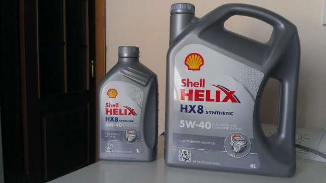 масло Shell Helix 5w-40