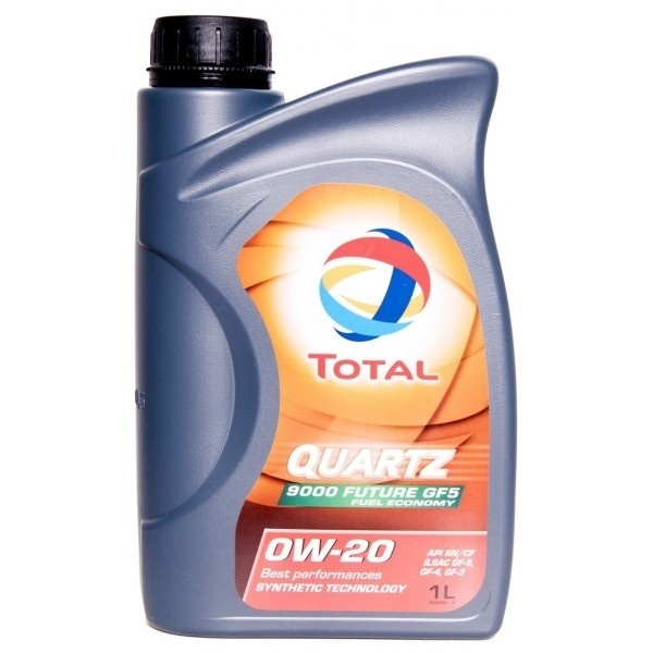 Канистра TOTAL QUARTZ 9000 FUTURE 0W-20