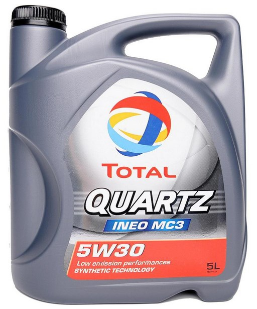 Масло TOTAL QUARTZ INEO MC3 5W-30