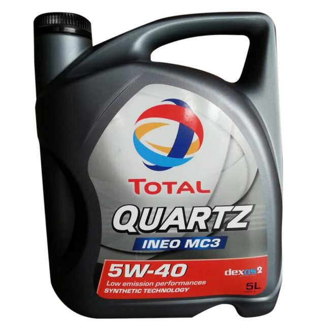 Канистра масла TOTAL QUARTZ INEO MC3 5W-40